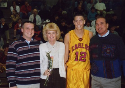 Family Senior Night Basketball 2003