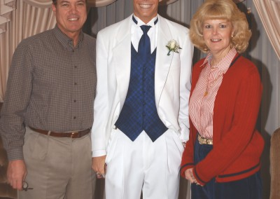 Trent with Dad & Mom 2003